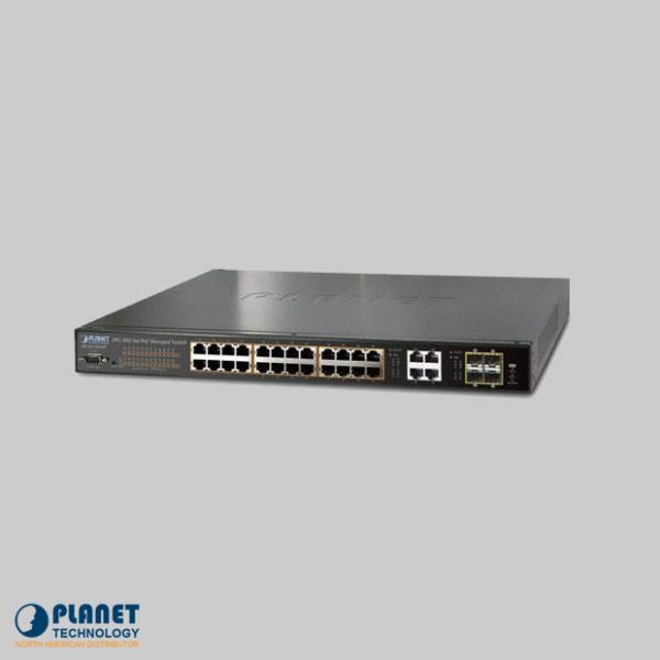 WGSW-28040P4 24-Port Managed PoE Switch