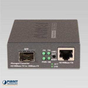 FT-905A Media Converter Front