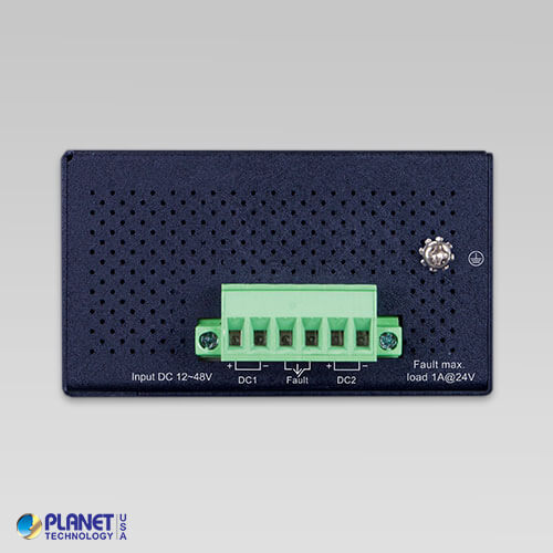 ISW-514PTF Industrial PoE Switch Top