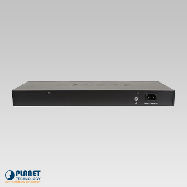 FNSW-1601 16-Port Fast Ethernet Switch Back