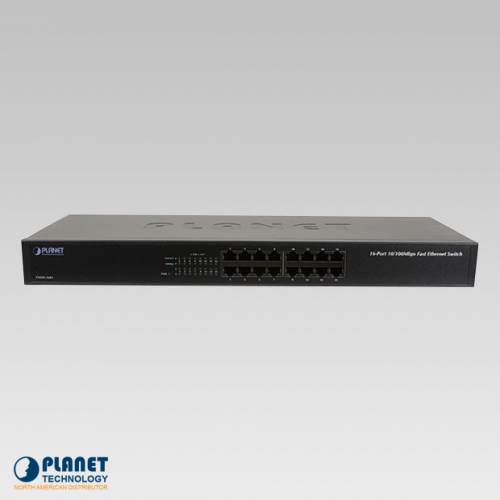 FNSW-1601 16-Port Fast Ethernet Switch