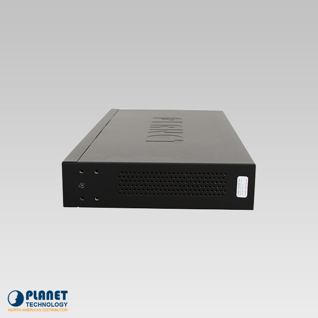 FNSW-1601 16-Port Fast Ethernet Switch Side 2