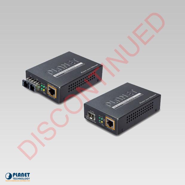 GTP-802 PoE Media Converter
