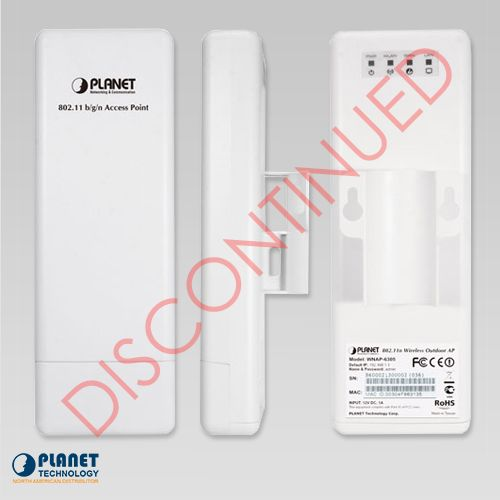 WNAP-6305 Wireless Outdoor Access Point Side View DISCONTINUED