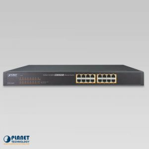 FNSW-1600P PoE Switch Front