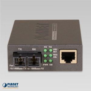 FT-802S35 Media Converter Front