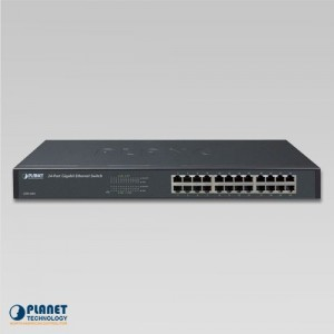 GSW-2401 Gigabit Switch front