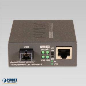 GT-806B60 Media Converter Front