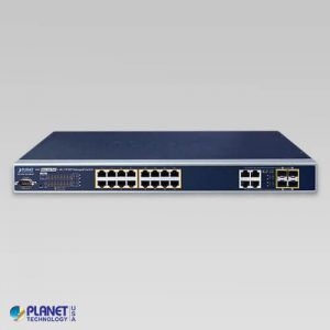 WGSW-20160HP PoE Switch Front
