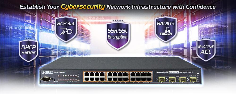 WGSW-24040HP Cybersecurity Features