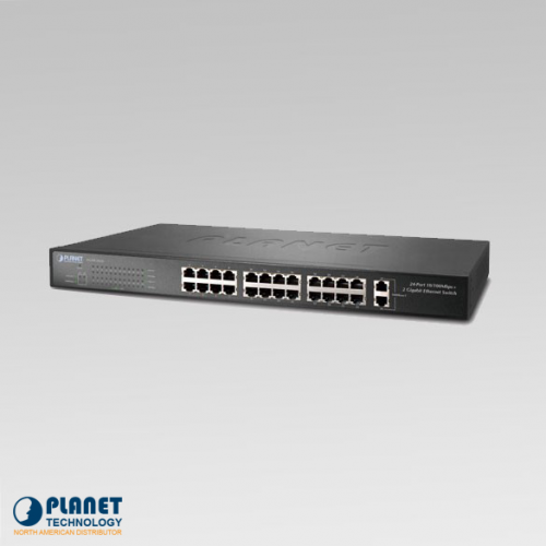 FGSW-2620 24-Port Gigabit Ethernet Switch