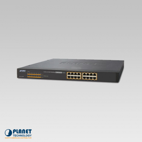GSW-1600HP 16-Port PoE Switch