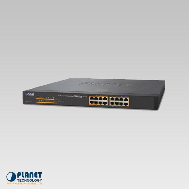 GSW-1600HP 16-Port PoE Switch