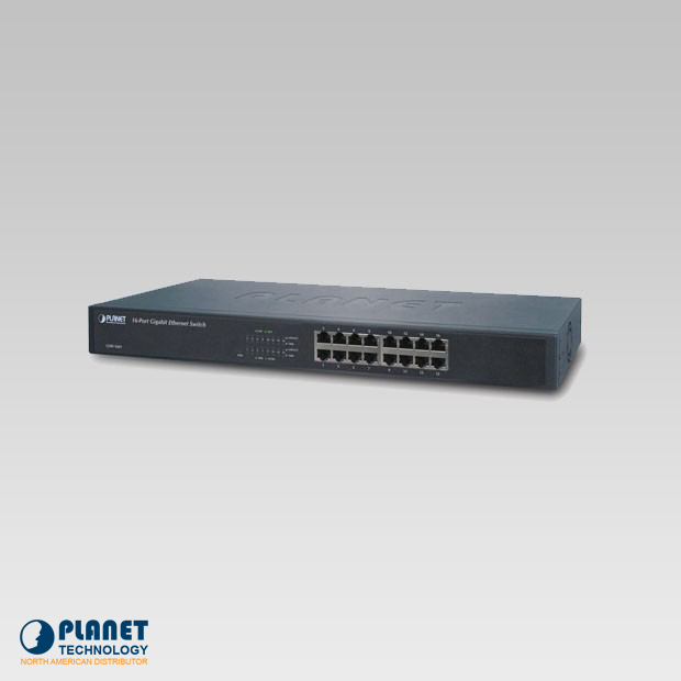 GSW-1601 Gigabit Ethernet Switch