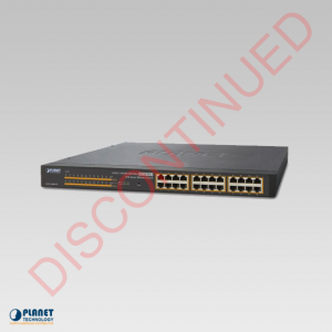 GSW-2400HPS 24-Port PoE Web Smart Ethernet Switch