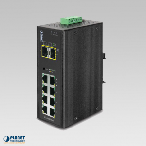 IGS-10020MT Industrial 8-Port SNMP Switch