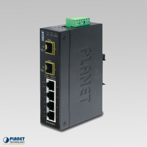 IGS-620TF Industrial Gigabit Ethernet Switch 4-Port