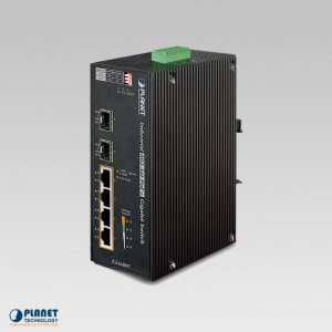 IGS-624HPT Industrial 4-Port Ethernet Switch