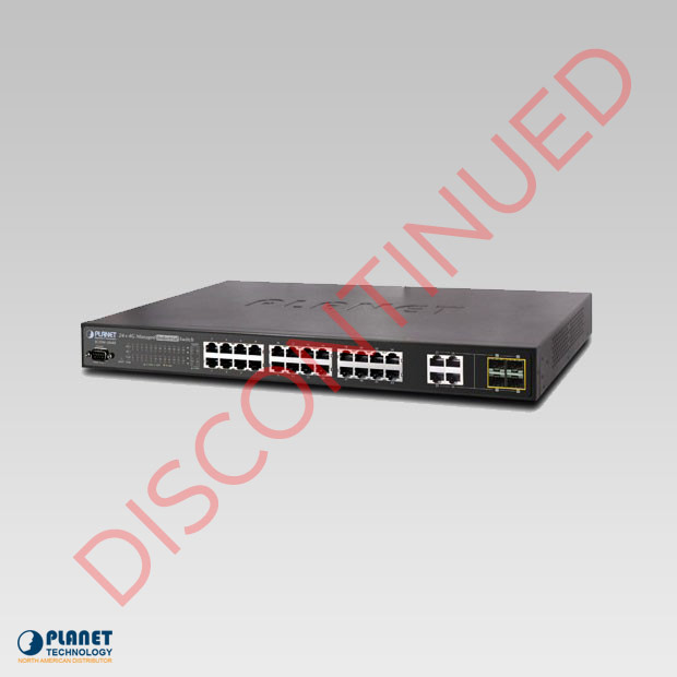 IGSW-2840 Industrial 24-Port Managed Switch