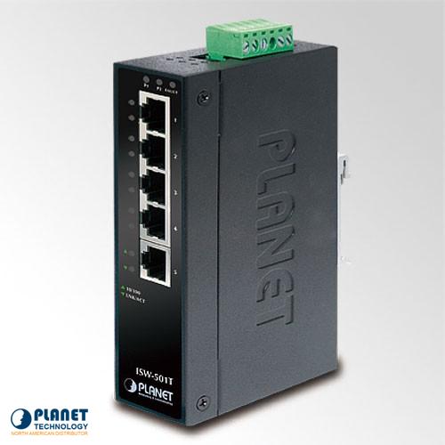 IGS-501T Industrial Gigabit Ethernet Switch 5-Port