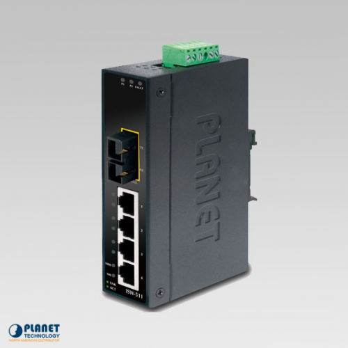 ISW-511TS15 Industrial 4-Port Ethernet Switch