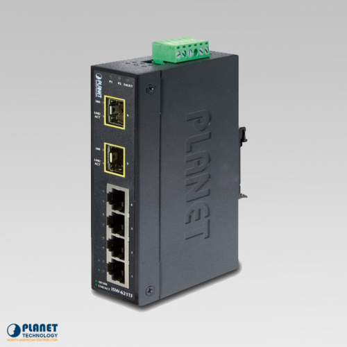 ISW-621TF Industrial 4-Port Ethernet Switch