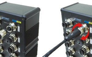 ISW-800T Industrial Fast Ethernet Switch 8-Port Application