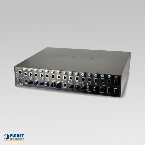 MC-1610MR48 Managed Media Converter