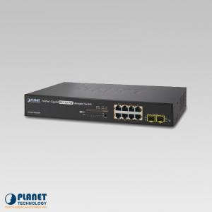 WGSD-10020HP 8-Port Managed PoE Switch