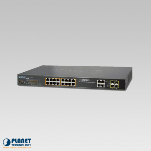 WGSW-20160HP 16-Port PoE Managed Switch