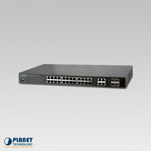 WGSW-28040 Managed Switch 28-Port