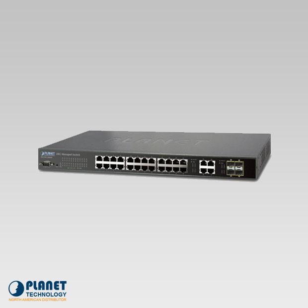 WGSW-28040 Managed Switch 28-Port