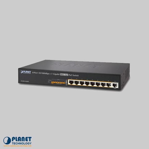 FGSD-910HP PoE Switch
