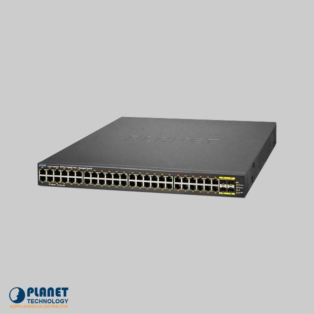 WGSW-48040HP PoE Switch