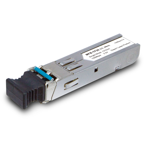 MFB-TF20 Single Mode, 100Mbps SFP fiber transceiver  - 20KM