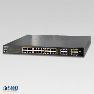 GS-4210-24P4C PoE Switch