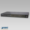 GS-5220-16S8CR Managed Switch Front