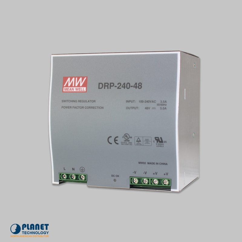 PWR-240-48 Din-Rail Power Supply