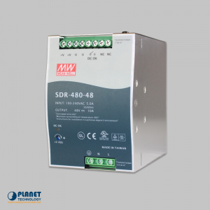 PWR-480-48 Din-Rail Power Supply