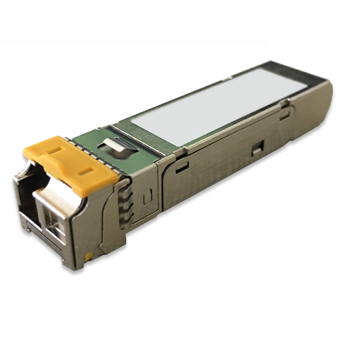 MGB-TSB Mini GBIC Multi-mode WDM Tx-1550,  2KM, 1000Mbps SFP fiber transceiver (-40 to 75C) , DDM supported