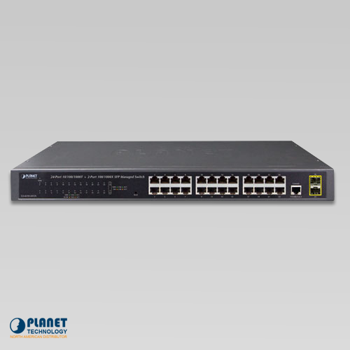 GS-4210-24T2S Managed Switch Front