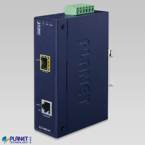 IGT-805AT Industrial Media Converter
