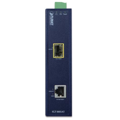 IGT-805AT media converter front