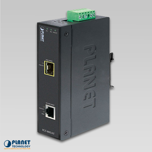 IGT-805AT Industrial Media Converter