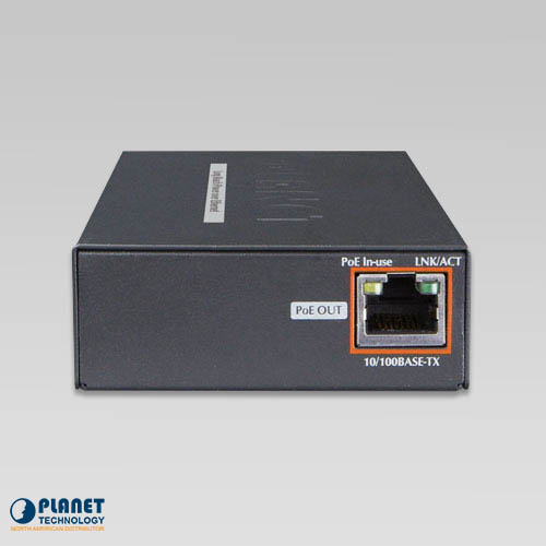 LRP-101CE PoE Extender Kit Back