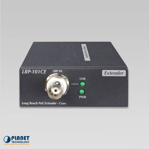 LRP-101CE PoE Extender Front
