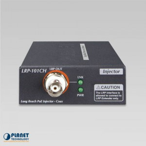 LRP-101CH PoE Extender Kit Front