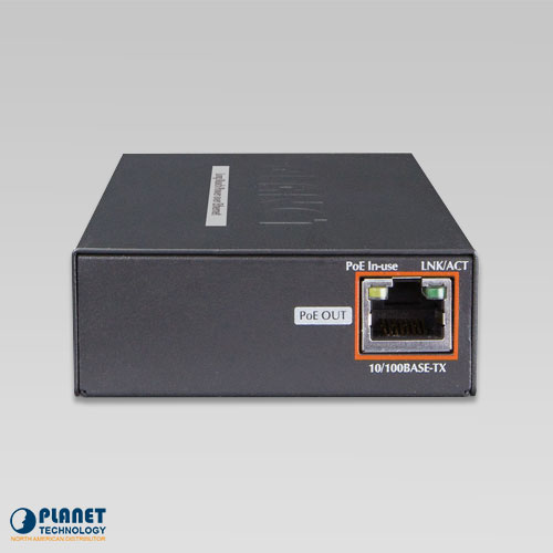 LRP-101UE PoE Extender Kit Back