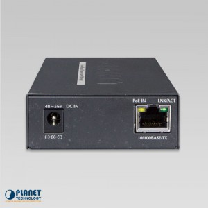 LRP-101UH PoE Extender Kit Back