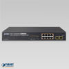 GS-4210-8P2S Managed Switch Front